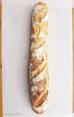 Bake French baguette yourself Mr. Green cooks - Simply bake French baguette yourself – baguette, France, bake, - Scones, Bread Recipes, Baking Recipes, Dessert Oreo, French Baguette, Ciabatta, French Food, Pampered Chef, Bread Baking
