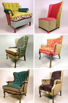 108 best patchwork images funky furniture painted furniture armchair rh pinterest com