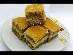 Prajitura cu mere - YouTube No Cook Desserts, No Cook Meals, Spanakopita, Macarons, Cornbread, Cooking, Ethnic Recipes, Food, Youtube