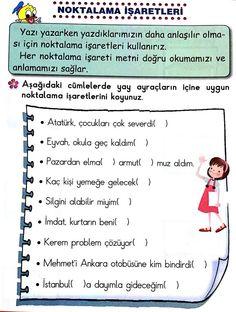 First Grade, Grade 1, Turkish Language, Classroom Activities, Homework, Worksheets, Thing 1, Teacher, Student