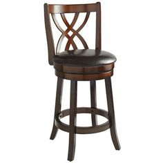 29 Quot Emerson Diamond Back Swivel Bar Stool With Arm Rests