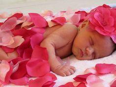 DIY newborn photo ideas