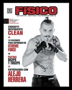portada para revista fisico Alejo Herrera en la 6º edición