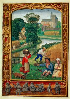 Illuminated manuscripts - The British Library. Book of Hours, Use of Rome (the 'Golf Book')
