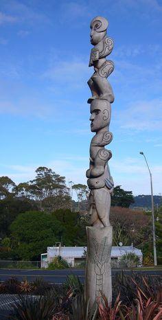 Pou Whenua - Glen Eden Library, Auckland, NZ