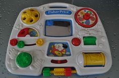 vintage crib activity center Fisher Price Toys, Vintage Fisher Price, Vintage Crib, Activity Centers, Nintendo Consoles, Nostalgia, Memories, Store, Ideas