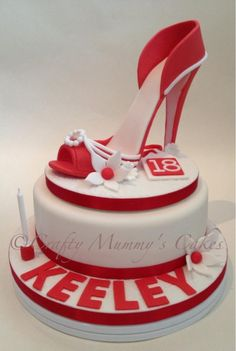 The Red Shoe - Cake by CraftyMummysCakes (Tracy-Anne)