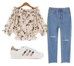 """""""Untitled #190"""" by summer-zou ❤ liked on Polyvore featuring adidas Originals"""