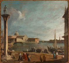 De Bacino di San Marco met de San Giorgio Maggiore - Canaletto, 1990 | Collectie Boijmans