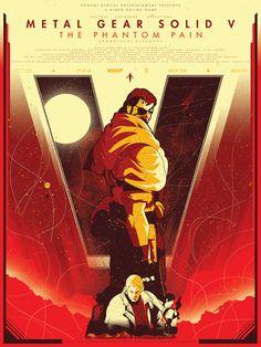 Metal Gear Solid - Marinko Milosevski Illustration and Design