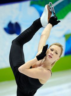 """Who: Joannie Rochette.  Field: Figure skating.  Why we're inspired: The Olympics offered up plenty of heroes, but no one stronger than Rochette. After her mother's death in Vancouver just two days before she was to begin her program, Rochette faced up to the task at hand and won a bronze medal. At her mother's funeral she laid it on the coffin, saying it was to show that """"this medal was won by the both of us."""" (DANIEL MALLARD/QMI Agency) Ice Skating, Figure Skating, Joannie Rochette, Skate 3, O Canada, Ice Dance, Mallard, Gliders"""