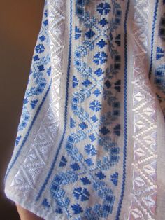 Hand made Romanian peasant blouse, hand stitched traditional, ethnic Romanian top size M/L