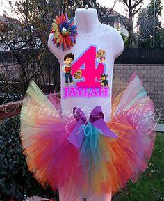 Paw Patrol Birthday Tutu Paw Patrol by MommiesKreationz on Etsy, $13.75 Paw Patrol Dress, Paw Patrol Party, Paw Patrol Birthday, Fourth Birthday, Birthday Tutu, 3rd Birthday Parties, Birthday Ideas, Rainbow Candy, Puppy Party