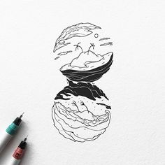 Como uma miniatura de outras épocas, as ilustrações de Dario Anza são pequenos mundos prontos para serem descobertos. De maneira surreal, Dario cria ilustrações em preto e branco que contam históri…