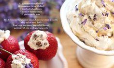 STRAWBERRIES & CREAM raw, vegan, dairy free, organic, gluten free