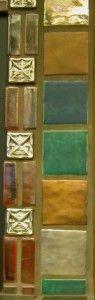 Pewabic Border Craftsman Style Decor, Pewabic Pottery, Antique Tiles, Michigan, Stitches, Mosaic, House Ideas, Arts And Crafts, Ceramics
