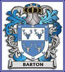 Another version of Barton coat of arms, not sure which one is actual family coat of arms