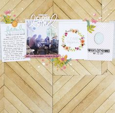 Using PL type cards Jen Schow Scrapbooking Layouts, Scrapbook Pages, Ali Edwards, Project Life, Games To Play, Kids Playing, March, Diy Crafts, In This Moment