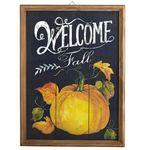 Welcome Fall Chalkboard Wall Decor