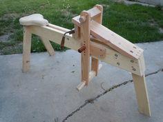 Shaving Horse - by CodyM @ LumberJocks.com ~ woodworking community