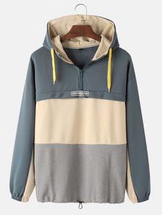 Package Include 1 HoodiePlease Note Please see the Size Reference to find the correct size Mens Sweatshirts, Hoodies, Loose Fit, Clothes For Sale, Chic Outfits, Long Sleeve, Sneaker Art, Type 1, Dark Grey