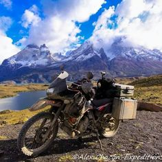 @modernmotorcyclediaries takes the #KLR650 adventure riding through South America.
