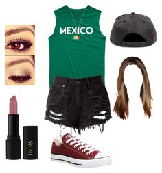 """Untitled #353"" by fangirlmuch on Polyvore featuring 21 Men, INIKA, Gucci and Converse"
