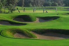 """Golf Mogador Essaouira: 18 Loch, Par 72, Handicap m36/w28, Länge 6559m. Im Herzen einer intakten Natur, mit Blick auf die Dünen, den Wald und den atlantischen Ozean, ist der Golfclub mit seinen beiden bon Gary Player designeten 18 Loch-Parcours auf dem besten Wege, zur Referenz der weltweitest schönsten Golfplätze mit ökologischer Aussichtung zu werden. Essaouira """"die Perle des Atlantiks"""" oder """"die schöne schlafende"""" wird sie liebevoll genannt."""