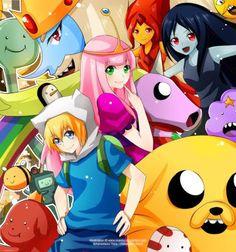 hora de aventura | Si te gusta el anime y Hora de Aventura, que te parecen estas ...