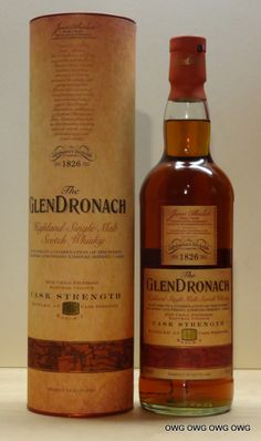 Glendronach Cask Strength Dec 2012 Batch No. Scotch Whiskey, Bourbon Whiskey, Single Malt Whisky, Wine And Spirits, Cellar, Whiskey Bottle, Vodka, Drinking, Beer
