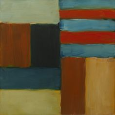 Blue Red, from the Cut Ground series by Sean Scully 'I want to live to 95 – to be there for my son – and I hope I'm still staggering out of the chair to paint' … Blue Red, from the Cut Ground series by Sean Scully. Hard Edge Painting, Action Painting, Painting Art, Oil Paintings, Abstract Expressionism, Abstract Art, Sean Scully, Pet Rabbit, American Artists