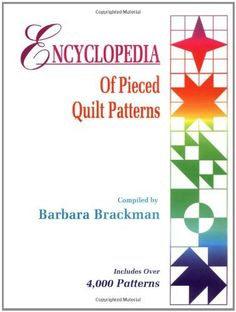Encyclopedia Of Pieced Quilt Patterns by Barbara Brackman, http://www.amazon.com/dp/0891458158/ref=cm_sw_r_pi_dp_oZ6lqb14GY5PK