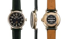 I wish! THE RUNWELL 41mm Green Leather Watch   Shinola®