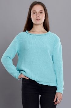 Second Female Note Knit Mint Green