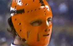 Post with 40 votes and 2441 views. The Evolution of the Goalie Mask Hockey Gear, Hockey Goalie, Field Goal Kicker, Ken Dryden, Fencing Mask, Slap Shot, She Mask, Goalie Mask, Best Masks