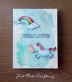 Seven Hills Crafts Blog: Rainbows , unicorns and glitter