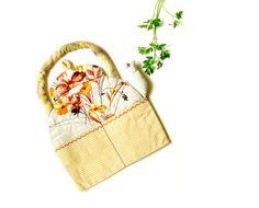 RUSTIC TEAPOT Textile Kitchen Decor Storage by BozenaWojtaszek, $35.00