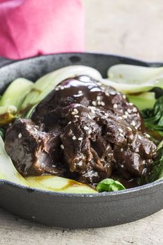 Martin Wishart's sumptuous braised pork cheek recipe is cooked in a pressure cooker, for a speedy, nutritious meal.