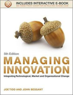 Managing Innovation. Managing Innovation is an established, bestselling text for MBA, MSc and advanced undergraduate courses on innovation management, management of technology, new product development and entrepreneurship. It is also widely used by managers in both the services and manufacturing sectors. Available from Campbelltown campus library. #innovation #management #technologicalchange #marketchange #organizationalchange
