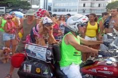 Inside the Samba Parade in Rio de Janeiro. Silvia and Silvana take us inside the Sambodromo, the biggest stage on earth, during Carnival. Samba Costume, Sewage System, Two Ladies, Rio Carnival, Schools First, On The Issues, Taxi Driver, Slums, Travel Couple