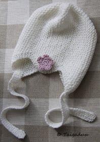 Taigaduu: Vauvan neulottu myssy Knitted Baby Clothes, Baby Knitting Patterns, Free Pattern, Winter Hats, Crochet Hats, Cap, Diy Crafts, Wool, Sewing