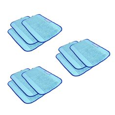 9pcs/Lot Microfiber Mopping Cloths for Mint 5200 5200C 4200 4205 irobot Braava 380 380t 320 //Price: $US $22.39 & FREE Shipping //     #homeappliance24