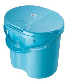 #bebe Rotho 20002 0172 Top – Cubo para pañales, color azul