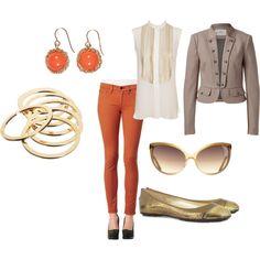 metallics + blazers + pops of color