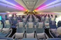 Royal Brunei 787 economy class