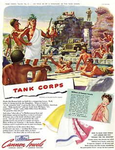 Tank Corps - cannon towels