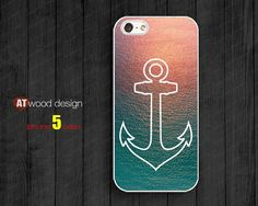 wide Sea and anchor unique new design iphone 5  cases  iphone 4/4s case iphone 5 cover cool iphone cases