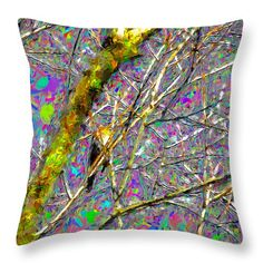 Trush abstract on #throw #pillow and #duvet #cover for sale