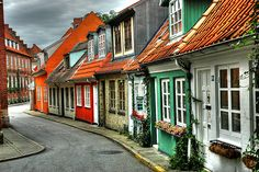 Aalborg, Denmark - My grandfather's family is from here.