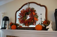 Fall mantle idea